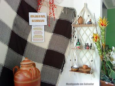 Recanto Miriabília Dei (Restaurante do Padre): Água da talha