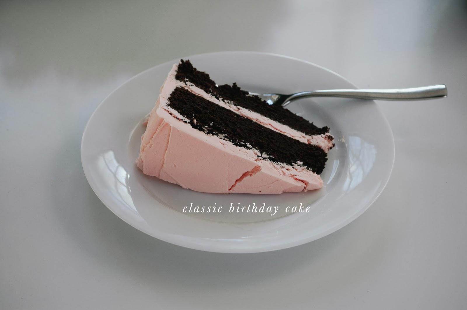 My Kind Of Chocolate Birthday Cake Recipe — Dishmaps