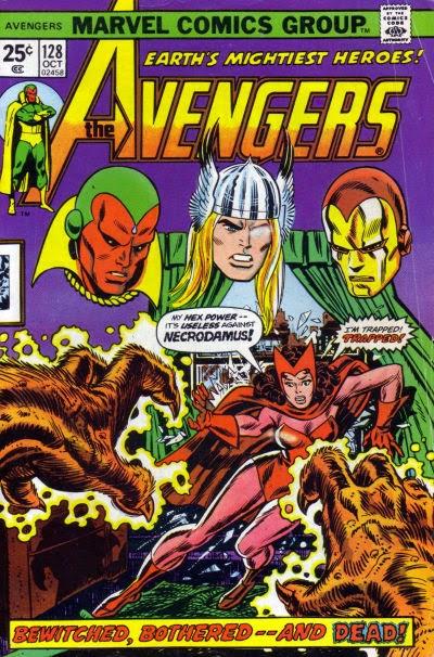 Avengers #128, Necrodamus