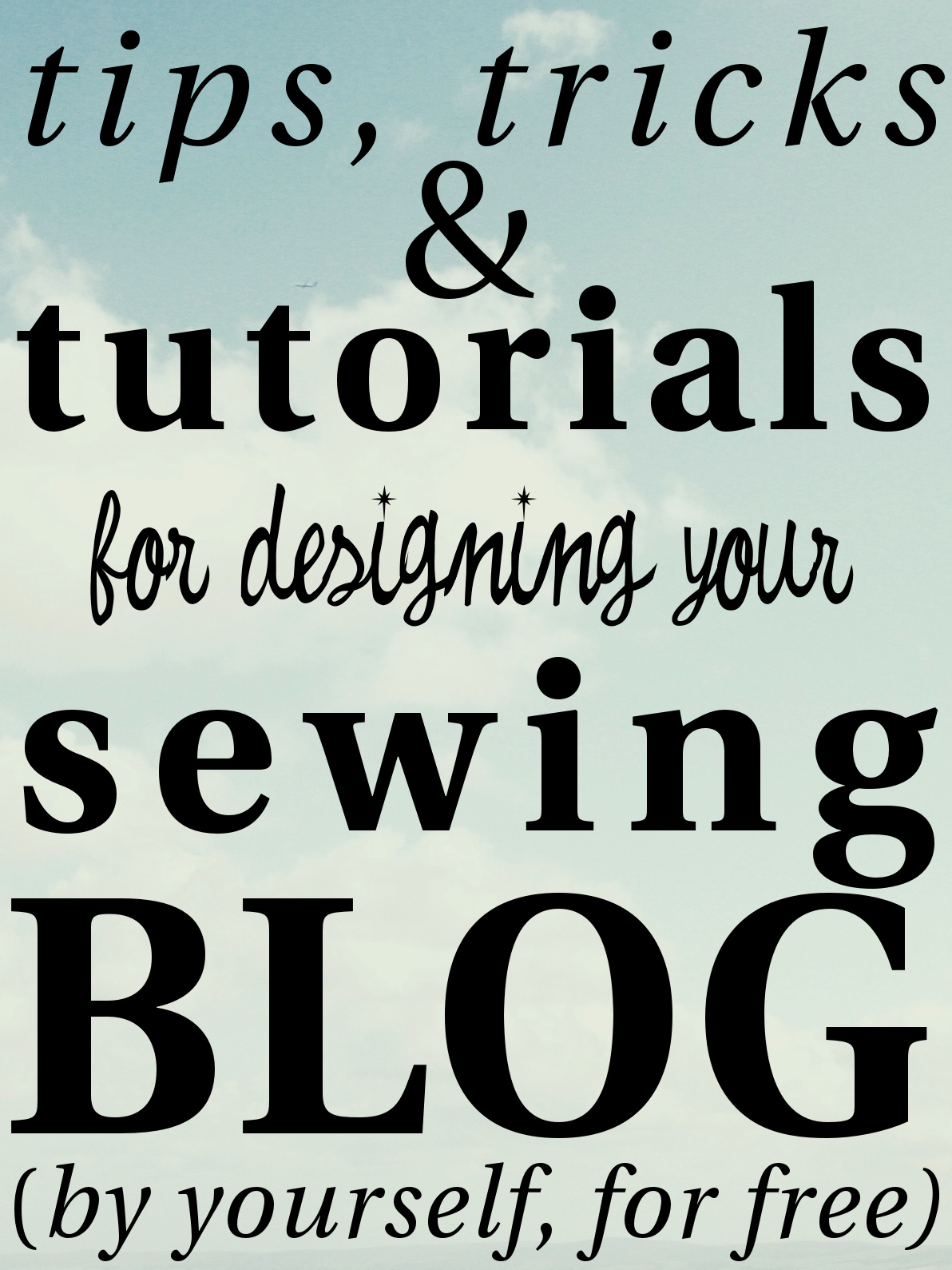 Easy Blog Design for Sewing Bloggers | allie J. (alliemjackson.com)