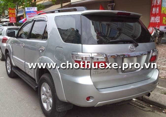 Cần thuê xe ô tô 7 chỗ tại Hà Nội 2