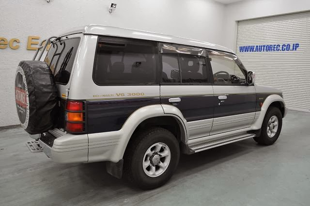 Japanese vehicles to the world 1995 mitsubishi pajero exceed 4wd for armenia and georgia for