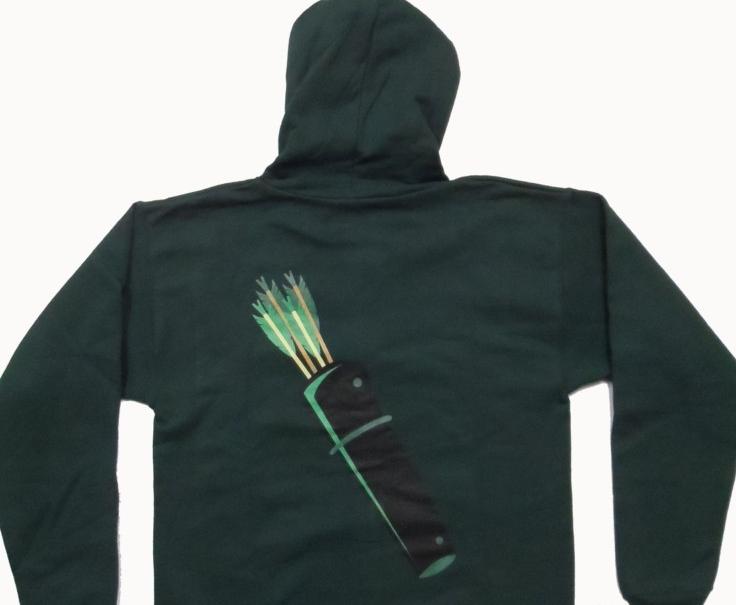 Green Arrow Hoodie OriginalGreen Arrow Hoodie