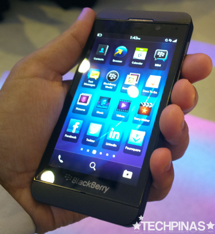 blackberry z10, blackberry z10 philippines