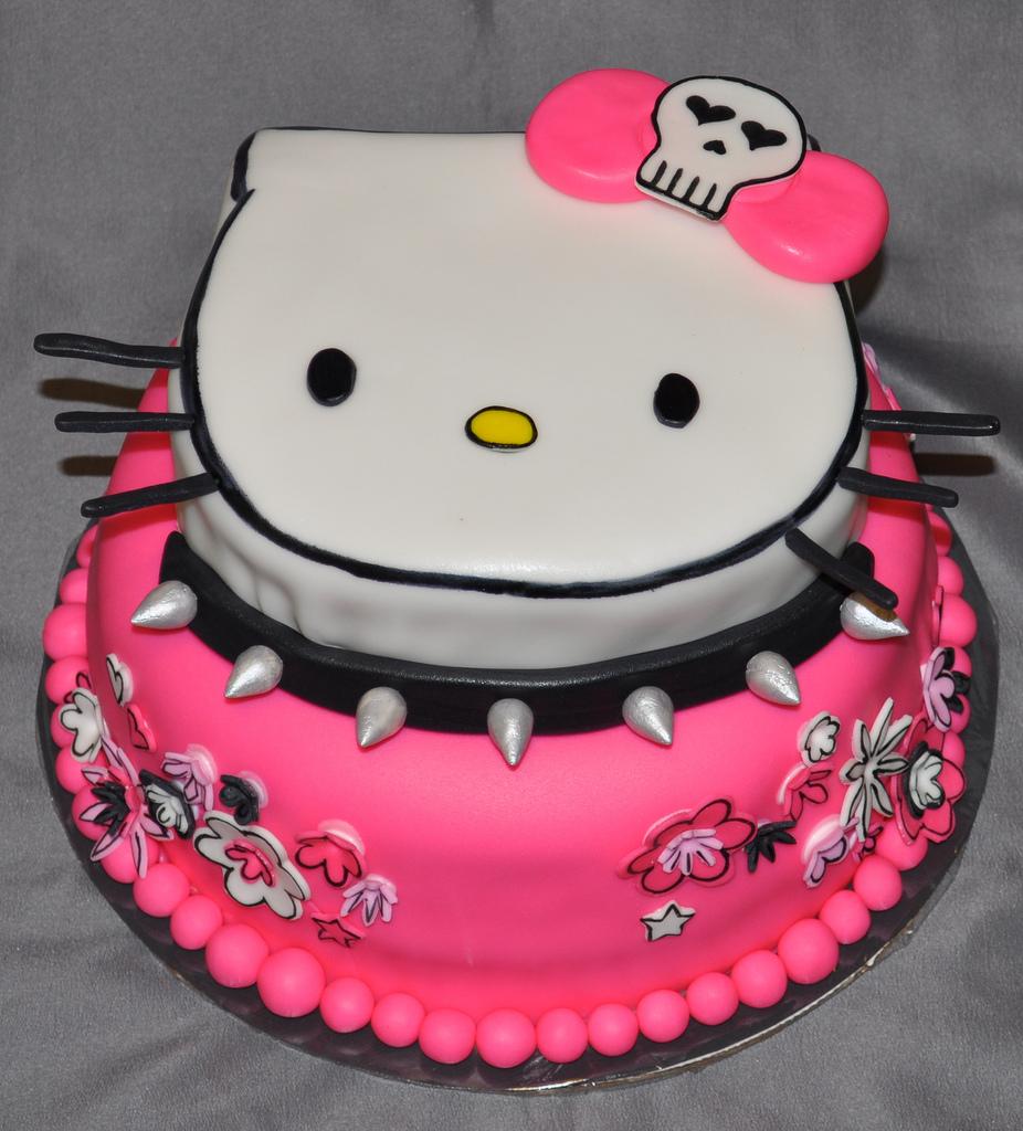 Gambar Kue Hello Kitty Lucu Ulang Tahun Hello Kitty Cake