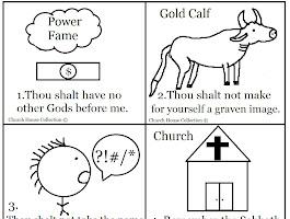 Ten Commandment Coloring Pages Free