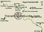Guguan Pass Map
