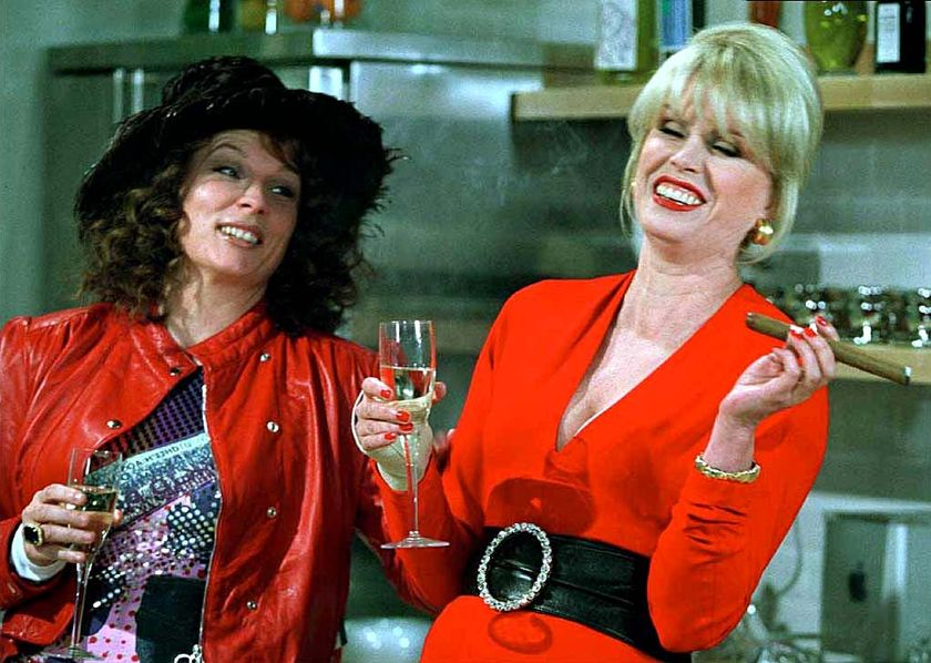 spent evening watching episodes absolutely fabulous sweetie darling