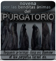 Novena por las benditas ánimas del Purgatorio