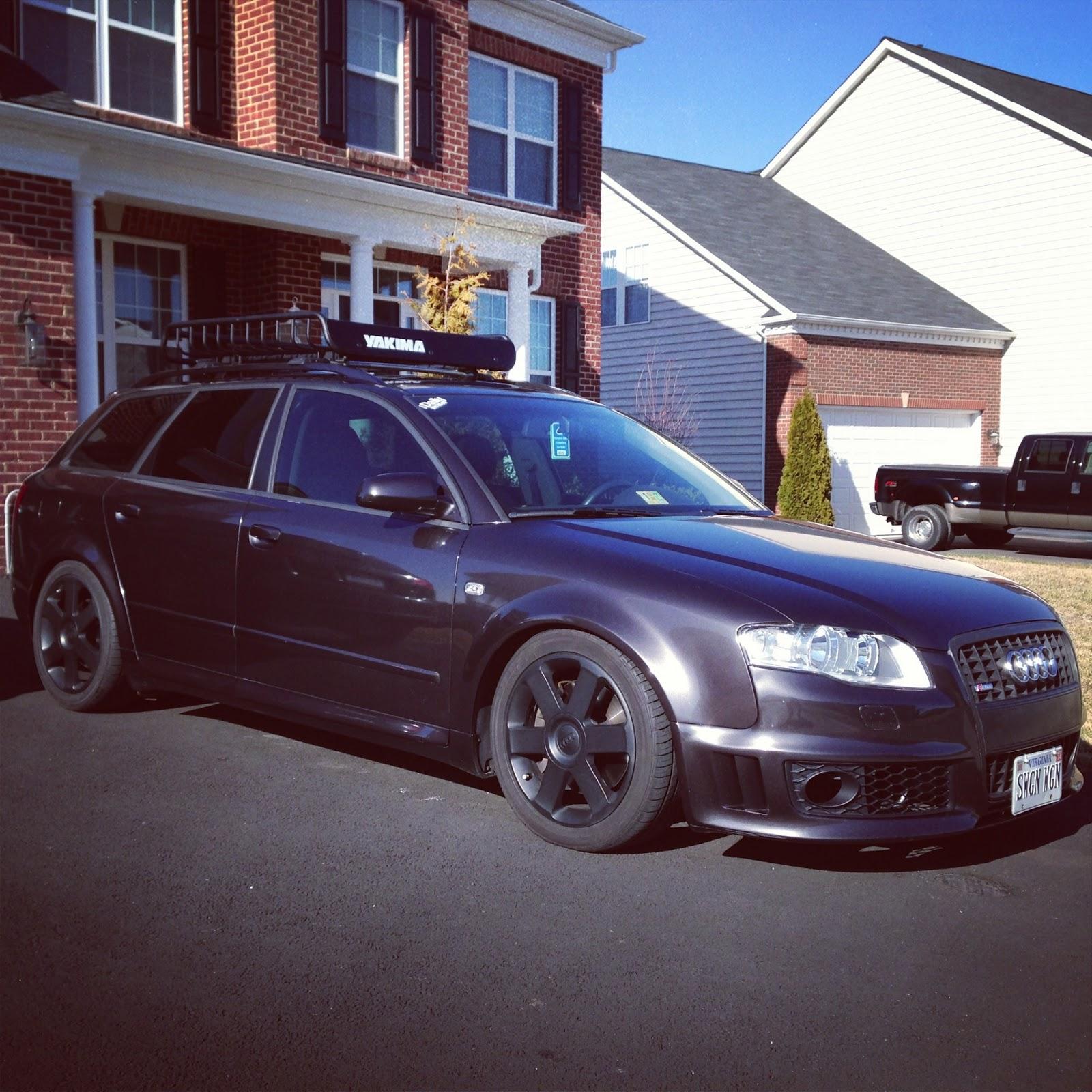 Shifted: Tony's Audi A4