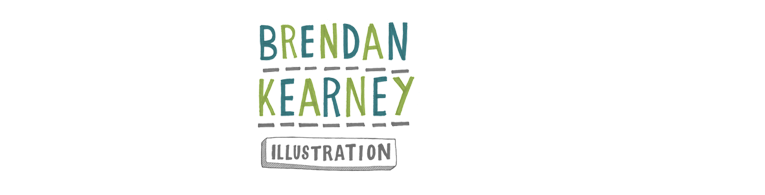 Brendan Kearney - Illustration and design