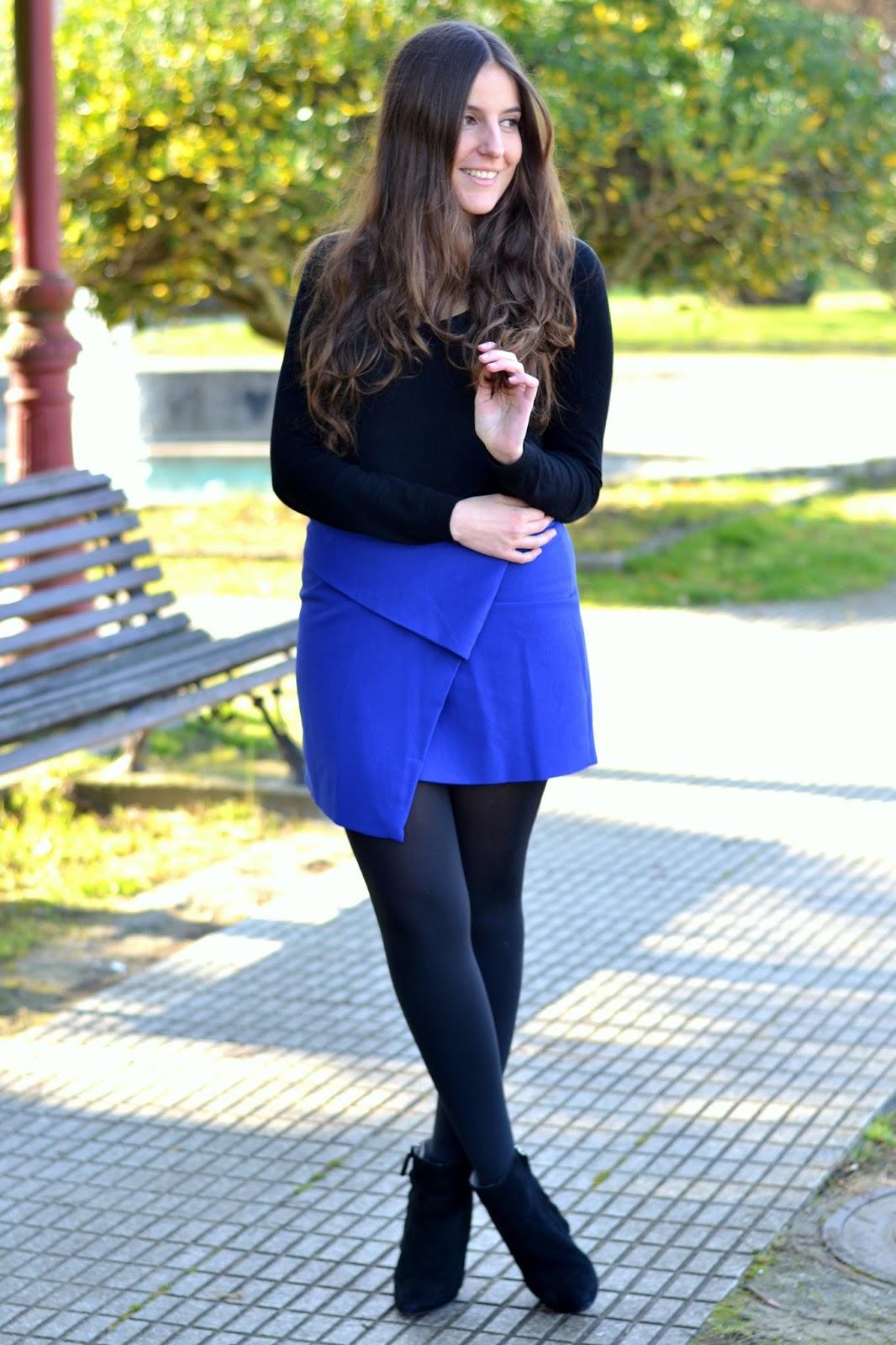azul klein y negro