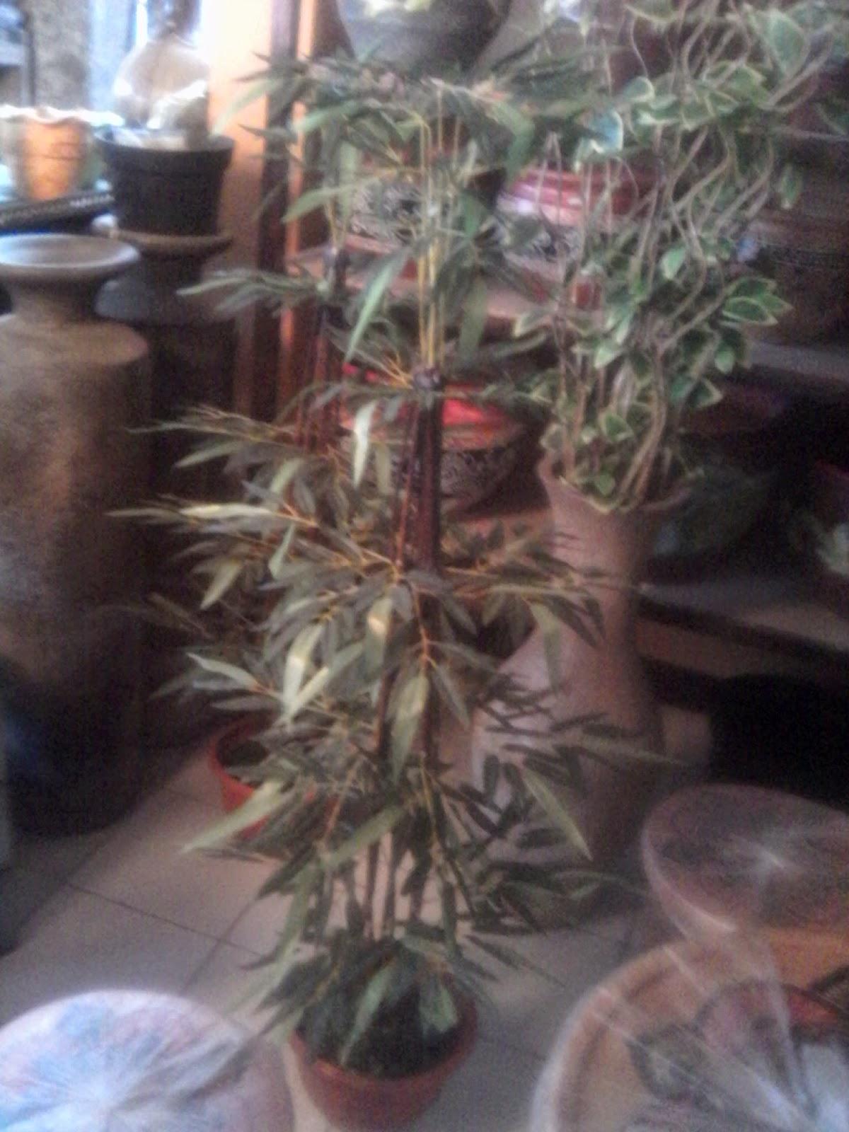 tanaman bambu artifisial