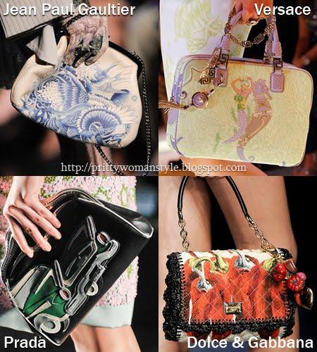 Чанти с принтове Пролет/Лято 2012