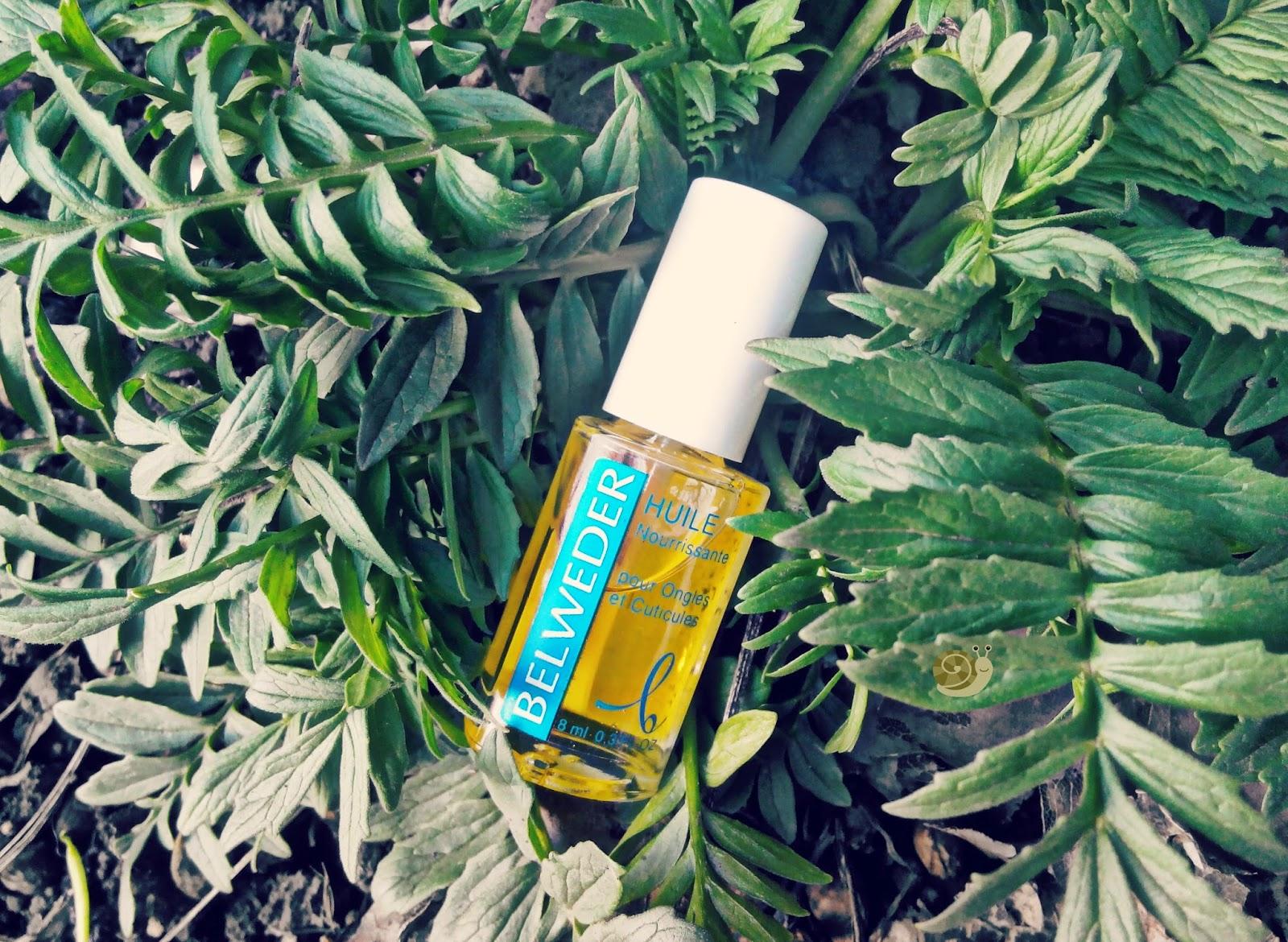 Масло ароматическое регенерирующее для кутикул и ногтей от Belweder