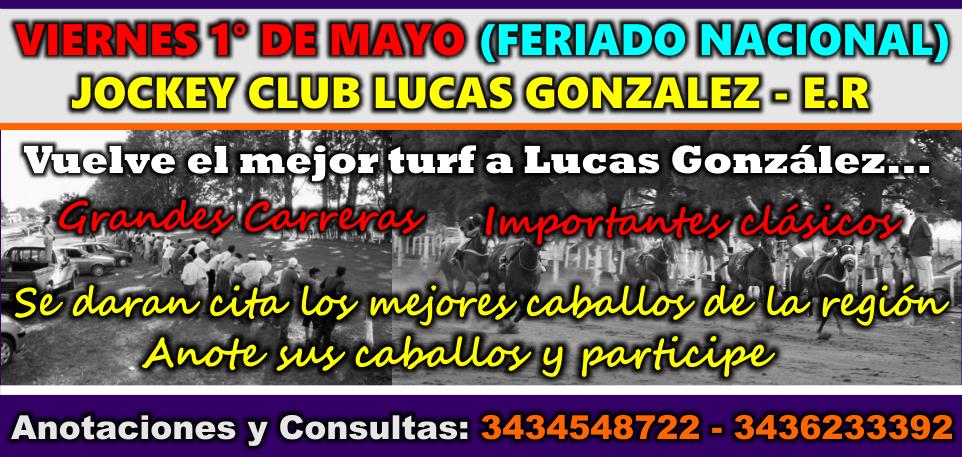 LUCAS GONZALEZ - 01.05.2015