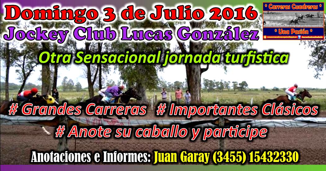 LUCAS GONZALEZ - 03.07.2016
