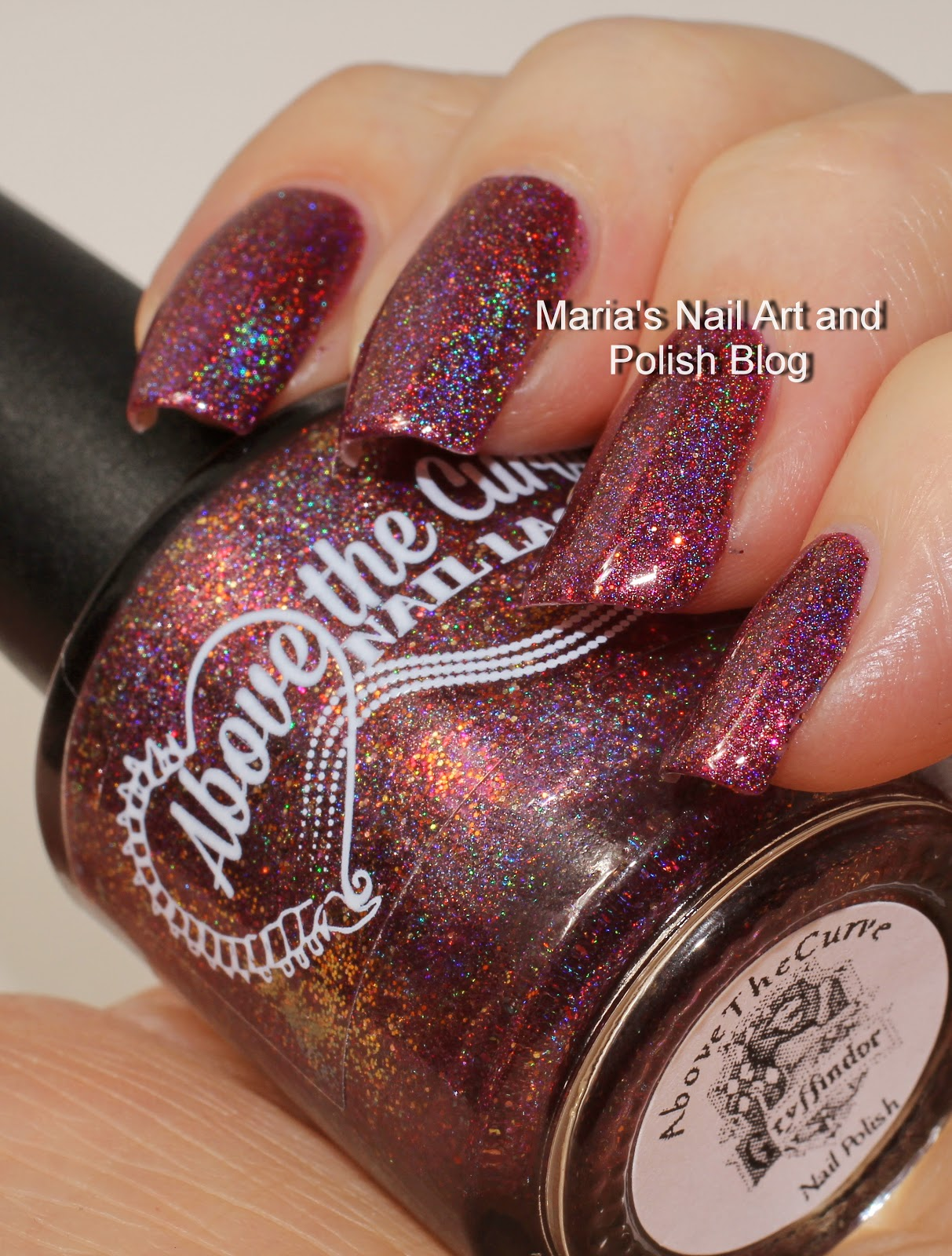 Marias Nail Art and Polish Blog: Above The Curve Gryffindor and ...