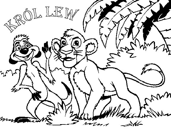 Lion King 2 Coloring Pages Online