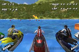 3D Jet Ski Yarışı Oyunu