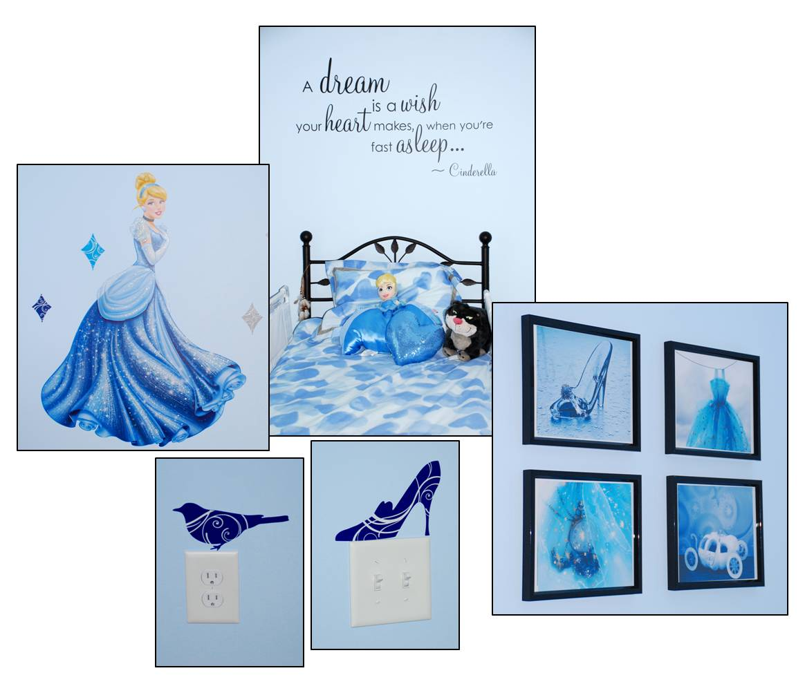 Fit For Our Princess: #Cinderella Bedroom Decor