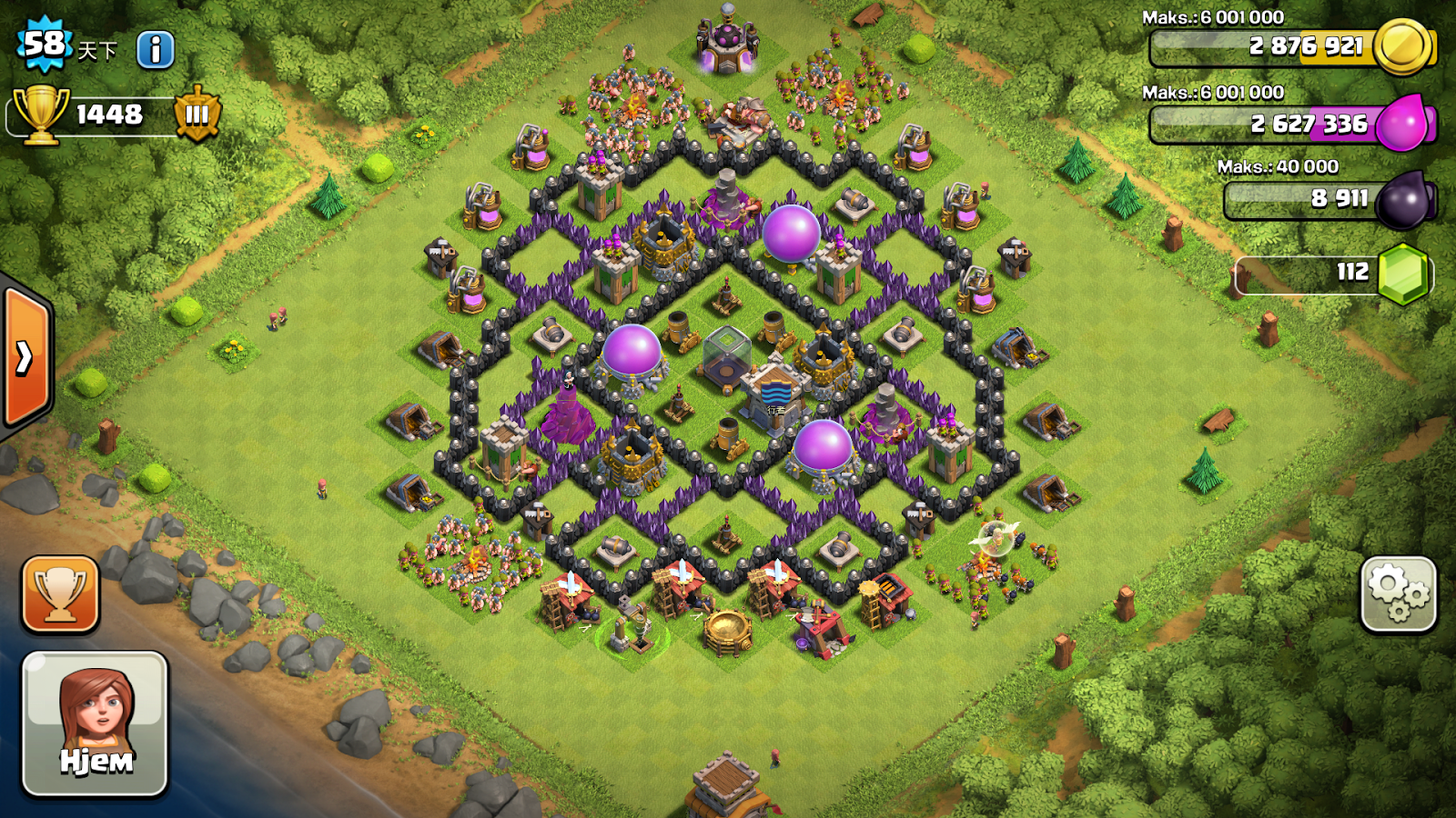 """Clash of Clans """"Anak Malaysia"""": Defensive base Clash Of ..."""