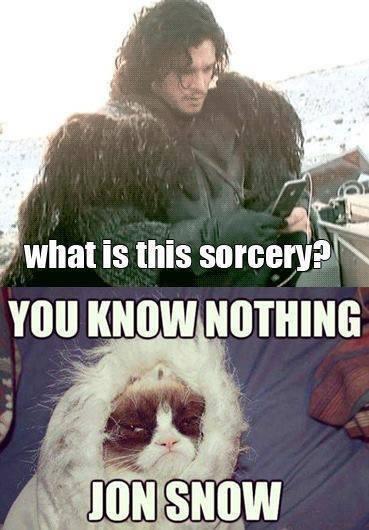 Jon nieve ipod - Juego de Tronos en los siete reinos