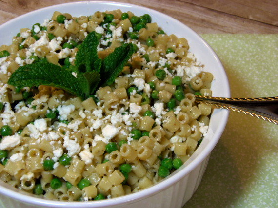 Summertime Pasta Salad With Feta And Mint Recipe