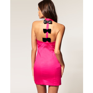Neon Pink Cocktail Dresses #2: neonpinkcocktaildress004