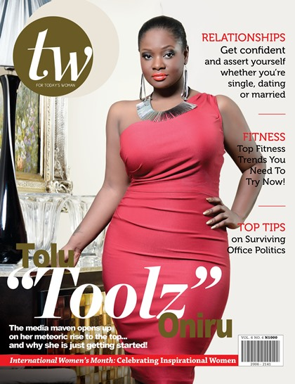 OAP Toolz covers March issue of TW magazine