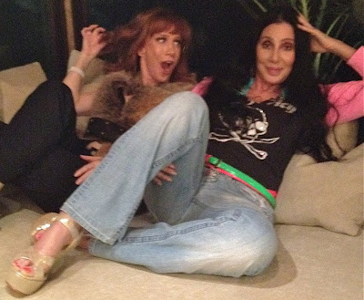 Kathy Griffin joins Cher