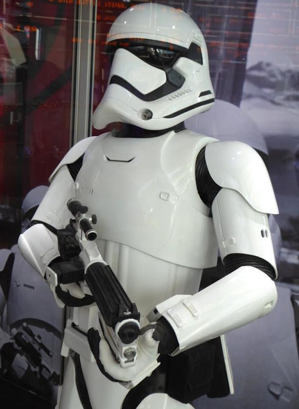 Star Wars Force Awakens Stormtrooper costume blaster
