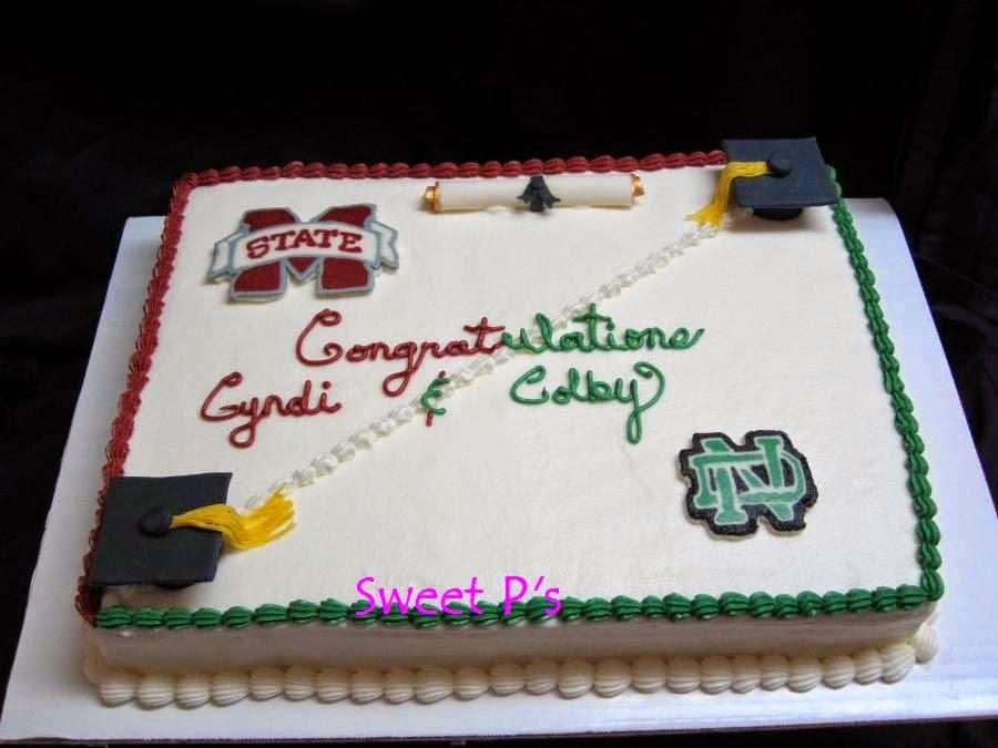 graduation cake Senatobia MS
