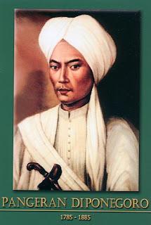 gambar-foto pahlawan nasional indonesia, Pangeran Diponegoro