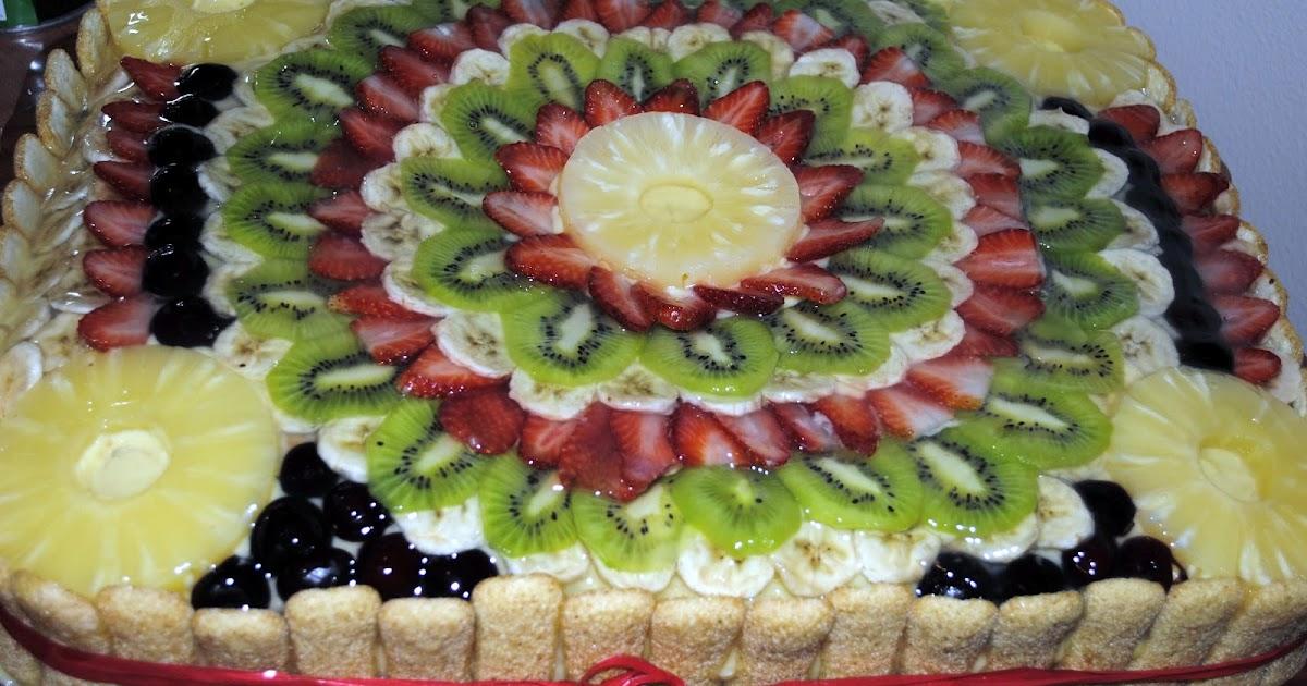 Ricetta Biscotti Torta Decorazione Torte Alla Frutta
