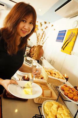 Malou Sebastian Breakfast in Microtel Inn & Suites Puerto Princesa, Palawan