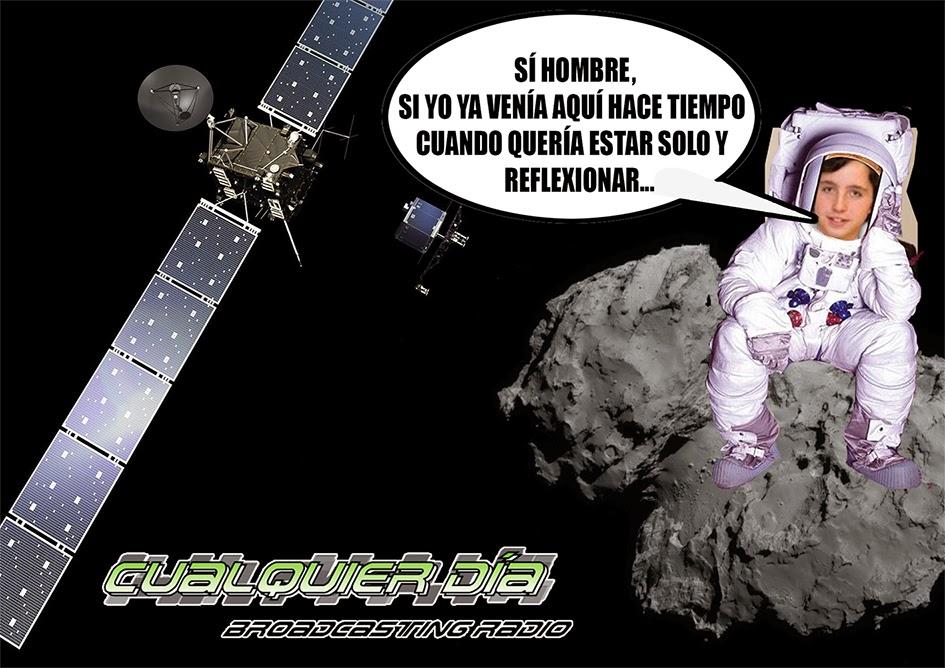 Pequeño Nicolás Philae Rosetta Cualquier Día