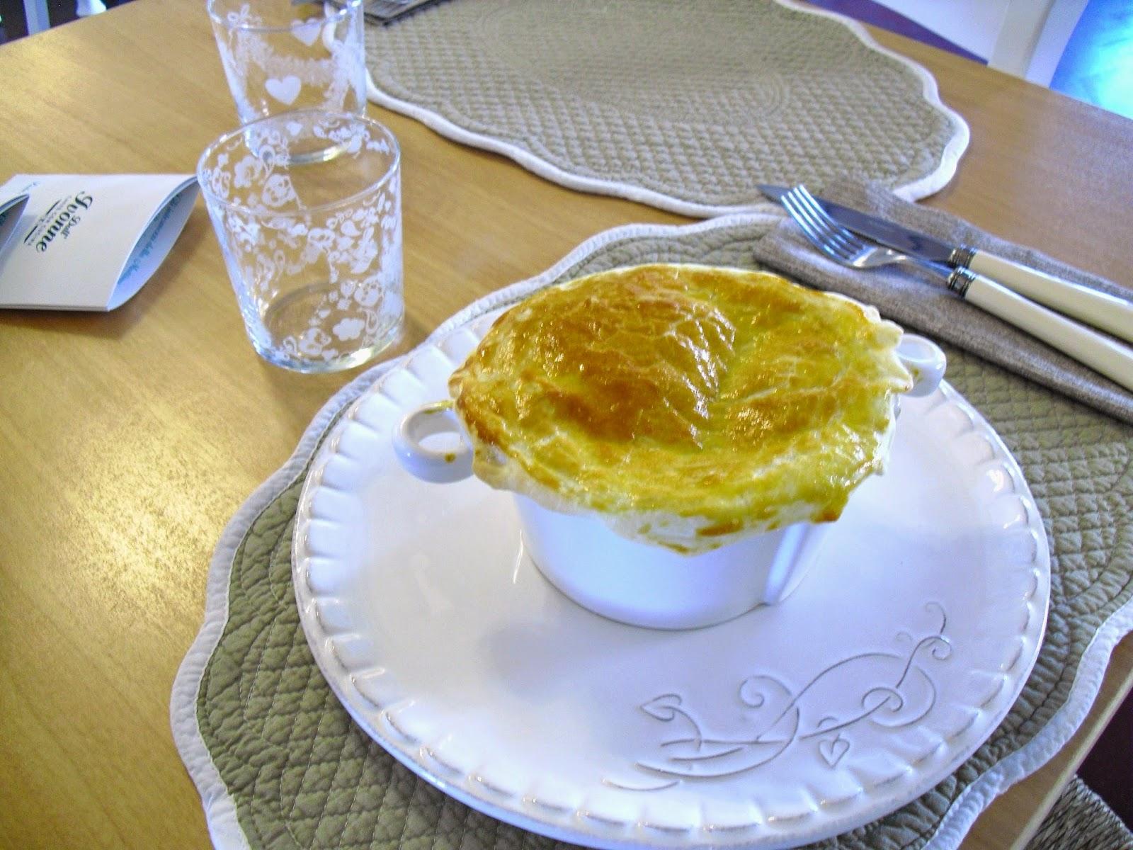Dall 39 ivonne caff con cucina la terrina di verdure in sfoglia - Caffe cucina brescia ...