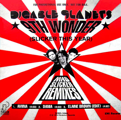 Digable Planets – 9th Wonder (Blackitolism) (Mad Slicker Remixes) (CDS) (1994) (320 kbps)