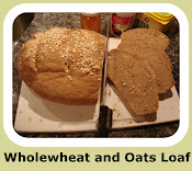 Wholewheat and Oats Loaf