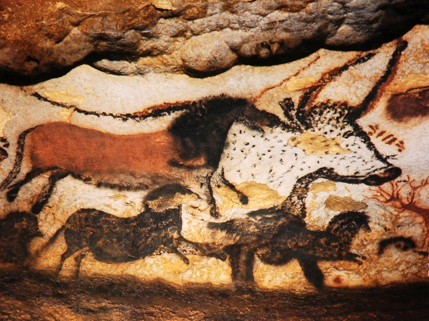 Cro Magnon Man Cave Art : Escape from reality early man and foie gras
