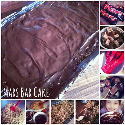 Mars Bar Cake recipe