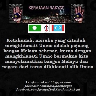 Umno Pengkhianat Melayu