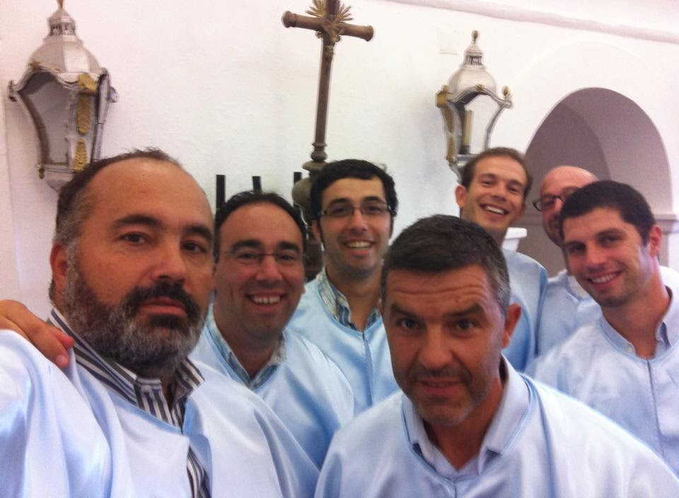 Fernando Gomes, Luís Alberto, Jorge Rosado, Fernando Sabino e Tiago Esteves