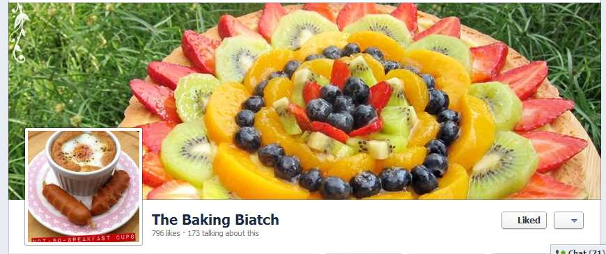 The Baking Biatch || by Cynthia Lim: Come like us on Facebook!