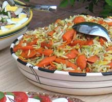 Weight Loss Recipes : Carrot and Orzo Salad with Fresh Dill