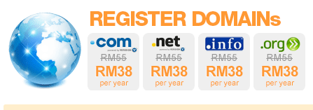 Register Domains