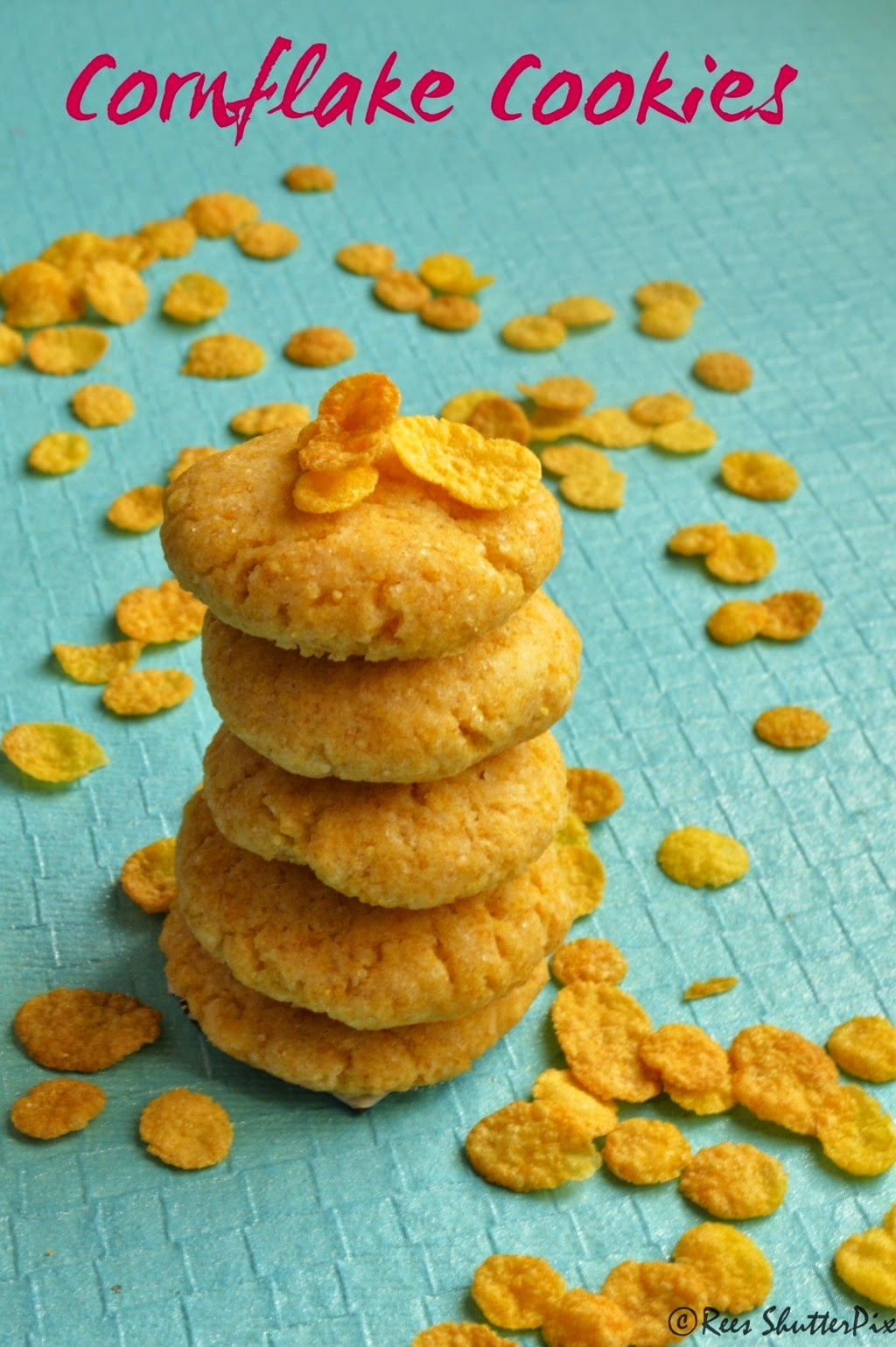 cookies, Teatime snacks, cornflakes,Cornflakes Cookies Recipe   Eggless Baking Recipes,eggless cookies, eggless cornflakes cookies recipe, lemon cookies, lemon cookies recipe, crushed cornflakes cookies, easy cookie recipe,