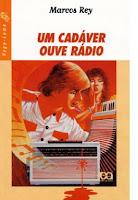 """Livro """"um cadáver ouve rádio""""(coleção vagalume)"""