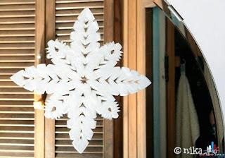 Украшаем стекла и зеркала на Новый год.